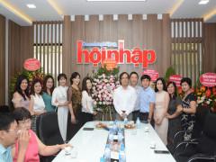 Lãnh đạo Vinasme chúc mừng Tạp chí Doanh nghiêp &Hội nhập nhân Ngày báo chí Việt Nam