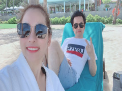 Nhạc sĩ Dương Khắc Linh đưa vợ mới cưới nghỉ dưỡng ở Premier Village Danang Resort Managed by AccorH