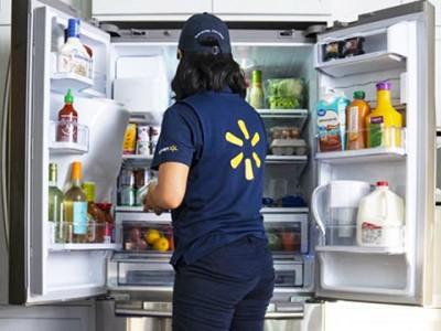 Walmart giao thực phẩm đến thẳng tủ lạnh của nhà khách hàng