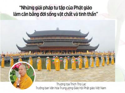 Những giải pháp tu tập của Phật giáo làm cân bằng đời sống vật chất và tinh thần