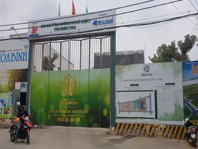"""Bị yêu cầu ngưng thi công, Hưng Lộc Phát """"lơ"""" chỉ đạo của UBND quận 7?"""