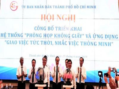 """VNPT triển khai hai hệ thống """"đặc biệt"""" tại TP. Hồ Chí Minh"""