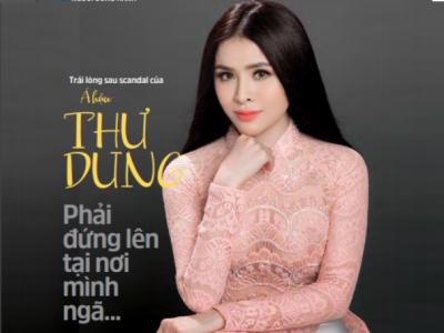 Trải lòng sau scandal của Á hậu Thư Dung: Phải đứng lên tại nơi mình đã ngã…