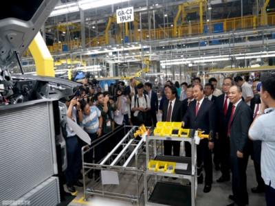 Thủ tướng dự lễ khánh thành nhà máy ô tô VinFast
