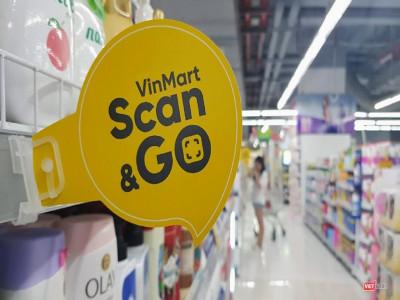 Trải nghiệm đi chợ thời 4.0 qua dịch vụ Scan&Go tại VinMart