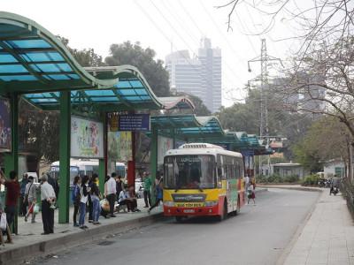 Xe buýt vẫn là phương tiện công cộng chủ đạo