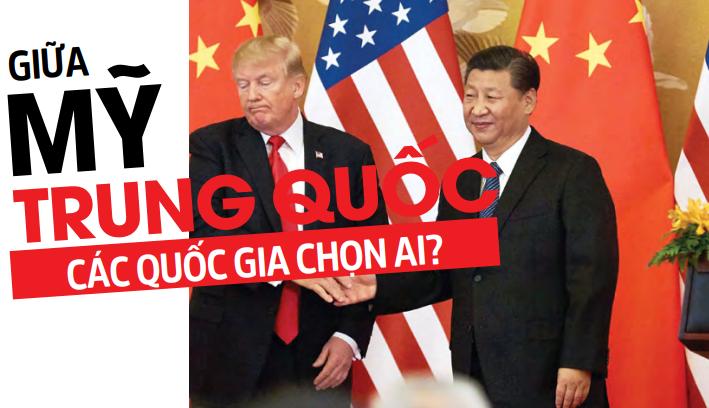 Giữa Mĩ và Trung Quốc các quốc gia chọn ai?