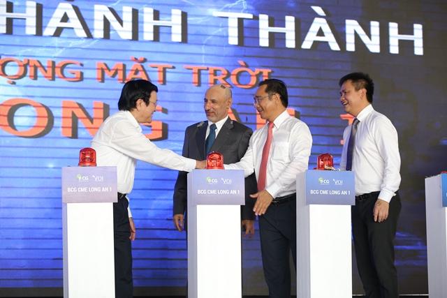 Quỹ VOI và Liên doanh BCG - CME: Khánh thành Nhà máy NLMT LONG AN 1 công suất 40,6 MWp