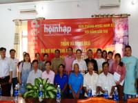 Văn phòng Đông Nam Bộ- Tạp chí Doanh nghiệp & Hội nhập: Tổ chức thăm và tặng quà gia đình chính sách