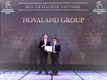 Novaland Group: Đạt giải Nhà phát triển dự án bất động sản tốt nhất Việt Nam 2019
