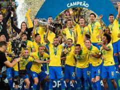 Bị đuổi người, Brazil vẫn vô địch Copa America 2019