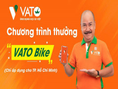 VATO Bike của Phương Trang chỉ thu chiết khấu 5% trên mỗi chuyến xe