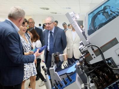 Khánh thành trung tâm công nghệ giày Việt-Ý