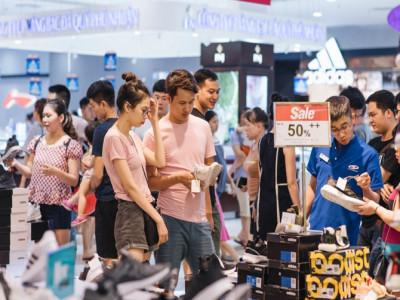 Nhiều thương hiệu Việt tung chương trình giảm giá vượt ngưỡng 50% tại Vincom Red Sale 2019