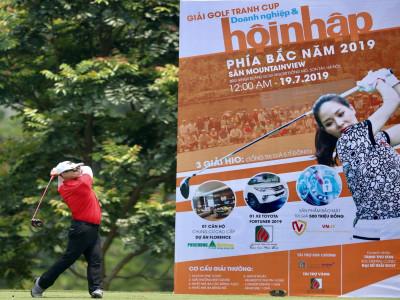 Giải golf tranh Cúp Doanh nghiệp & Hội nhập 2019 - Nắng nóng không làm giảm tình yêu với golf