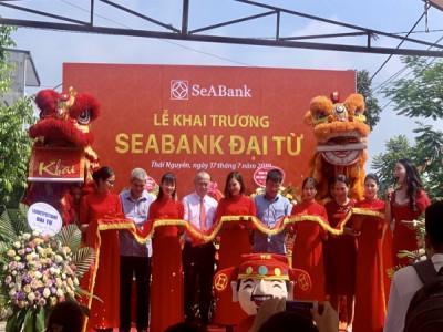 SeABank Đại Từ chính thức đi vào hoạt động tại tỉnh Thái Nguyên