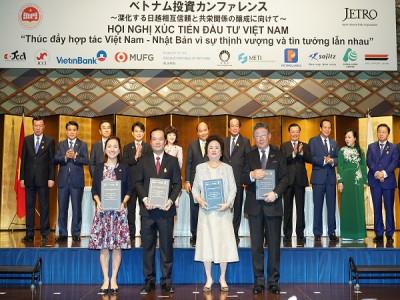 Tập đoàn BRG, Tập đoàn VNPT, Tập đoàn Sumitomo và Ngân hàng SeABank trao thỏa thuận hợp tác