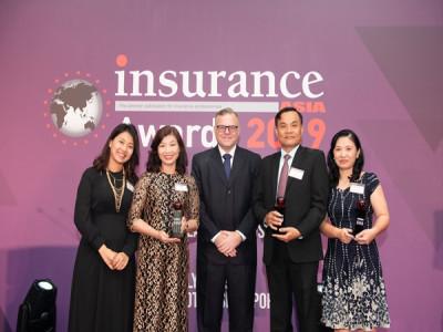 Prudential giành cú đúp Ba giải thưởng của Insurance Asia Awards
