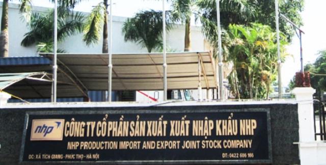 Bài 2: Công ty CP Sản xuất XNK NHP từng bị tố bất tín bao nhiêu lần?