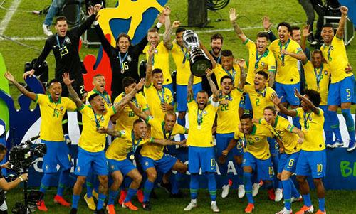 Brazil lần thứ 9 vô địch Copa America