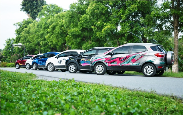 """Ford Việt Nam tổ chức lễ trao giải cuộc thi Ford EcoSport - Paint Your """"True Color"""""""