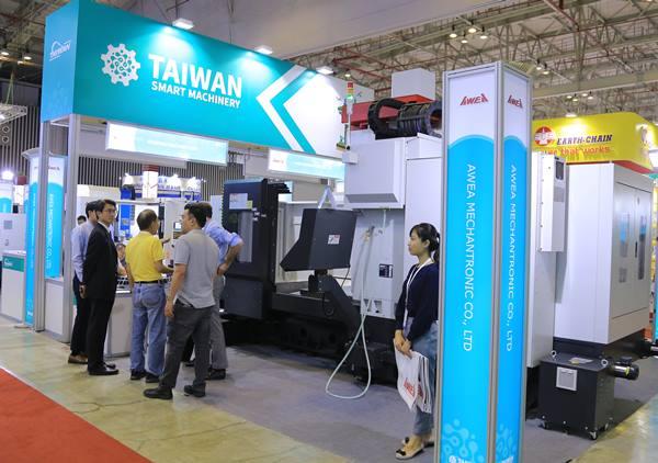 Xuất khẩu công cụ máy móc của Đài Loan vào Việt Nam tăng mạnh