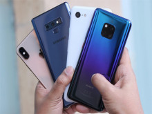 Doanh số iPhone sụt giảm, Huawei bỏ xa Apple