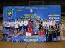Đội Hà Tĩnh đăng quang vô địch Giải bóng đá quốc gia dành cho trẻ em có hoàn cảnh đặc biệt năm 2019