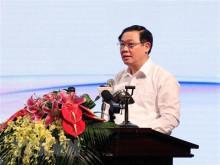 Phó Thủ tướng Vương Đình Huệ chủ trì cuộc họp về tình hình nợ quốc gia và phát hành trái phiếu doanh