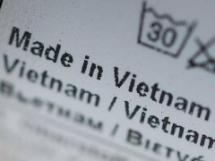 Vì sao hàng hóa có tỷ lệ nội địa 30% sẽ được ghi made in Vietnam?
