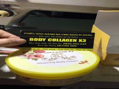 Mỹ phẩm Body Collagen X3 của Công ty TNHH Mỹ phẩm Đông Anh bị làm giả