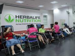 250 nhân viên Herbalife Việt Nam hiến tặng hơn 163 đơn vị máu