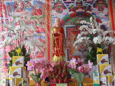 Giá trị nhân văn từ những khóa lễ cầu siêu mùa Vu lan ở Tây Thiên