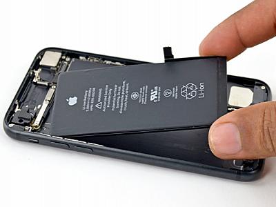Không thể kiểm tra tình trạng iPhone nếu thay pin không chính hãng