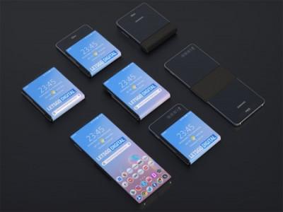 Smartphone màn hình gập ngang của Samsung
