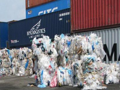 Chiêu thức nhập khẩu phế liệu núp bóng hạt nhựa vận chuyển về Việt Nam