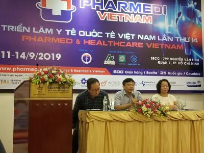 Triển lãm Pharmed & Healthcare Vietnam thu hút 600 gian hàng đến từ 25 quốc gia