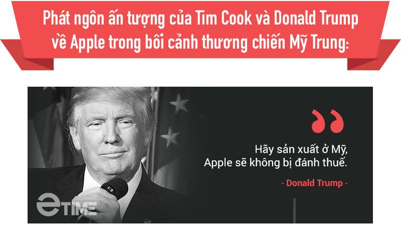Apple lận đận giữa cơn thịnh nộ thuế quan của Trump