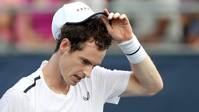 Andy Murray trở lại là… thua