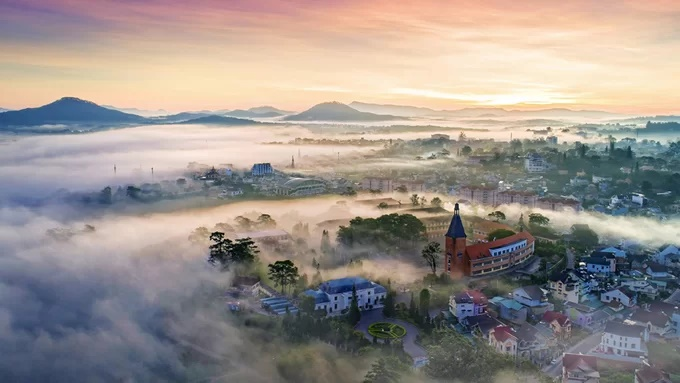 Hình ảnh Việt Nam ấn tượng từ trên cao