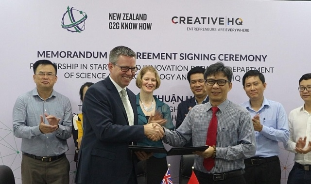 New Zealand và TPHCM ký kết thỏa thuận về khởi nghiệp sáng tạo