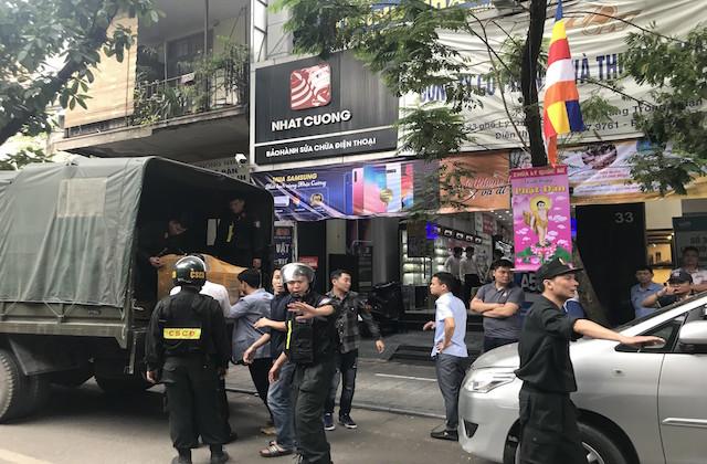 Bộ Công an thu nhập thông tin từ Hà Nội về vụ Nhật Cường