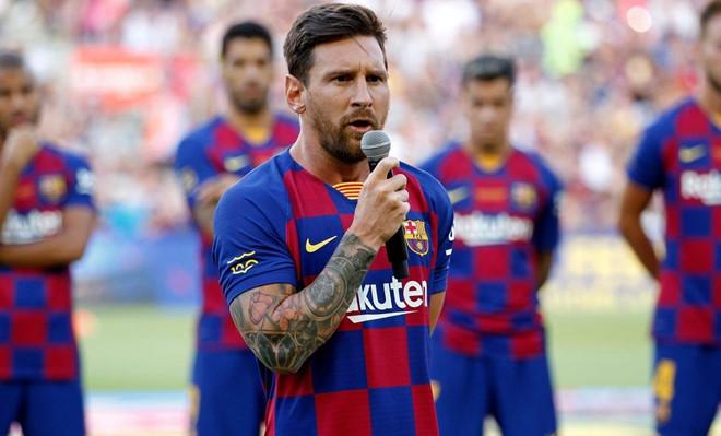 Barca xác nhận Messi được tự do rời CLB sau mùa này