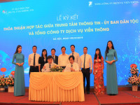VNPT ký kết thỏa thuận hợp tác với Ủy ban Dân tộc