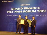 VNPT vươn lên vị trí số 2 Top 50 Thương hiệu giá trị nhất Việt Nam 2019