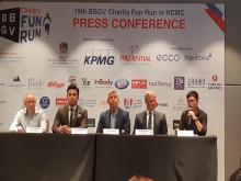 BBGV gây quỹ từ thiện qua chương trình chạy bộ Fun Run