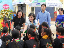 Quỹ sữa Vươn Cao Việt Nam: Nỗ lực sứ mệnh vì trẻ em