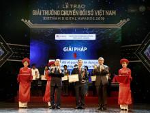 SeABank vinh dự nhận giải thưởng Chuyển đổi số Việt Nam (Vietnam Digital Awards 2019)