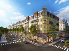 Ra mắt dãy shophouse mặt đường tại Shophouse Europe