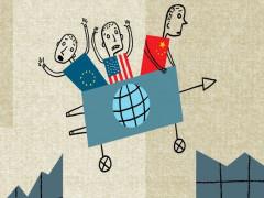 Kinh tế toàn cầu sẽ ra sao trước sự chia rẽ ở châu Âu, một nước Mỹ với chủ nghĩa dân tộc và sự bành